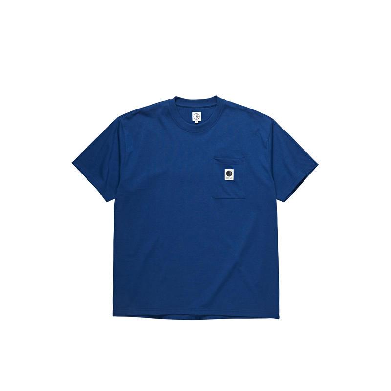 POLAR SKATE CO. / POCKET  TEE (D.BLUE)