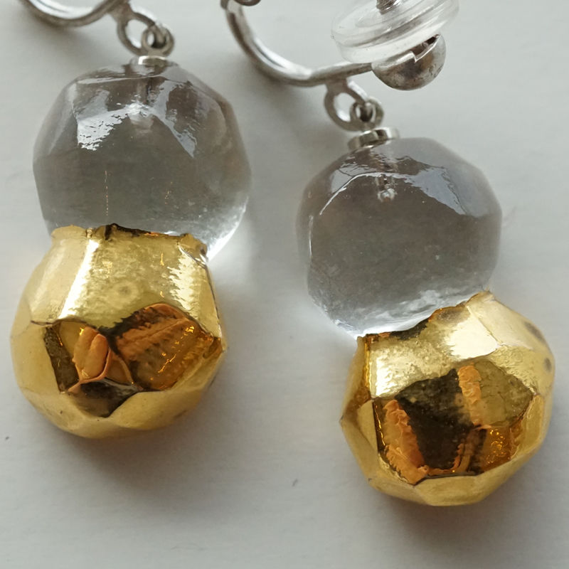 earrings「金彩のイヤリング」 金津 沙矢香 028862-2-5