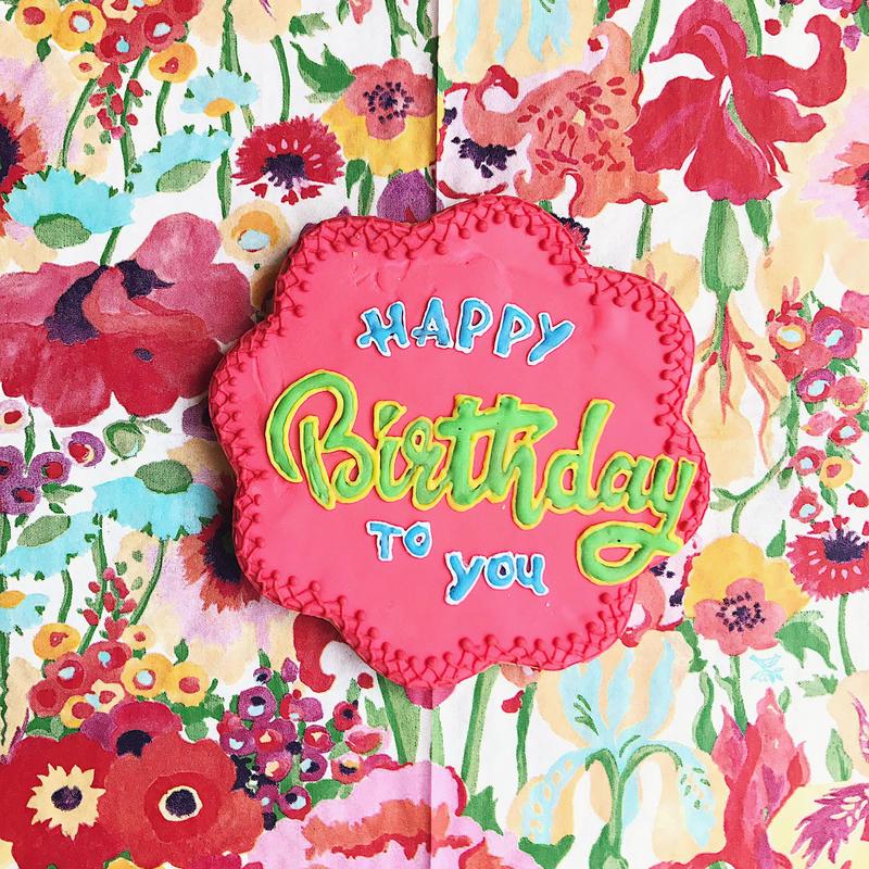 Happy birthday cookie2