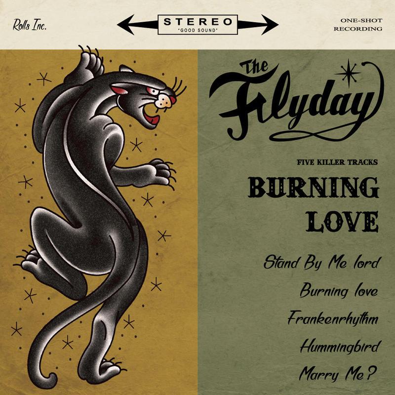 THE FLYDAY「Burning Love」CD