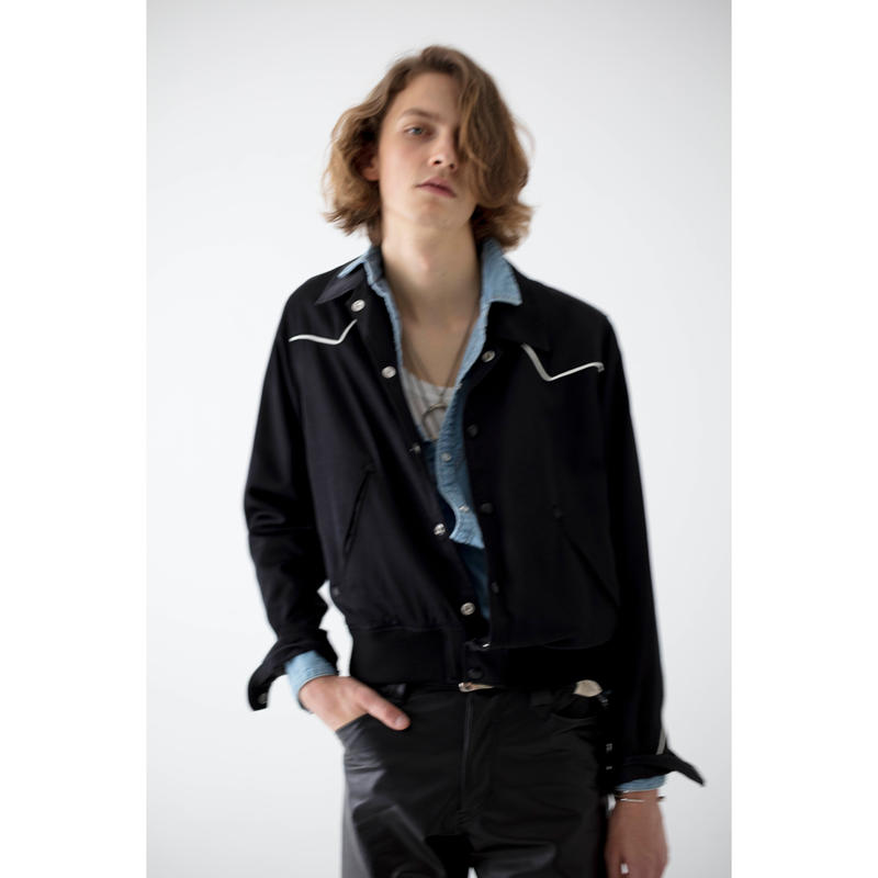 Western Sport  Jacket. -Rayon Cotton Twill-