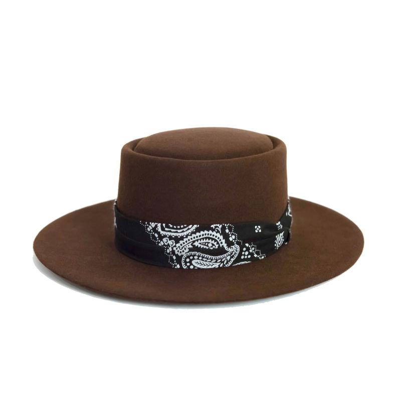 Western 8 Brim Hat.