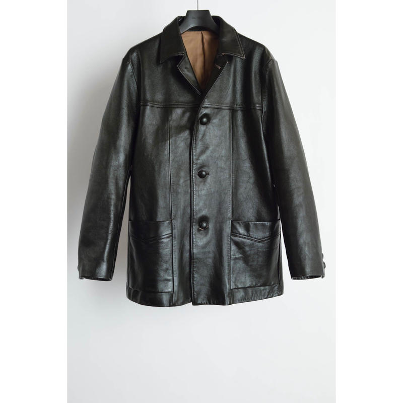 Western Half Jacket. -Sheep Leather-