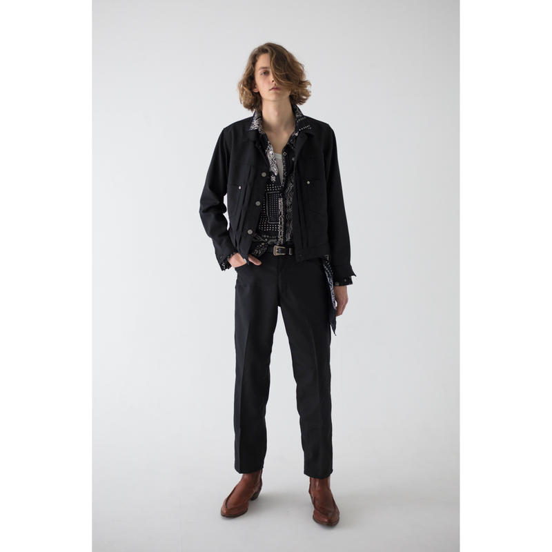 Western Work Jacket.   -Gabardine-