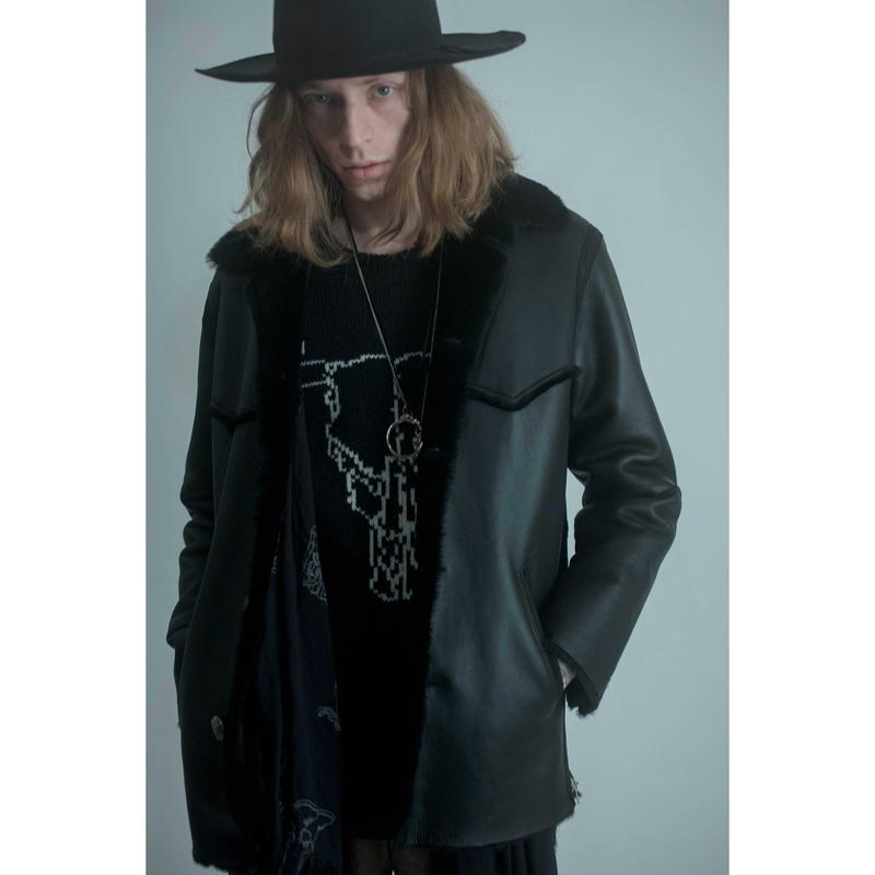 Western Concho Jacket. -Mouton-