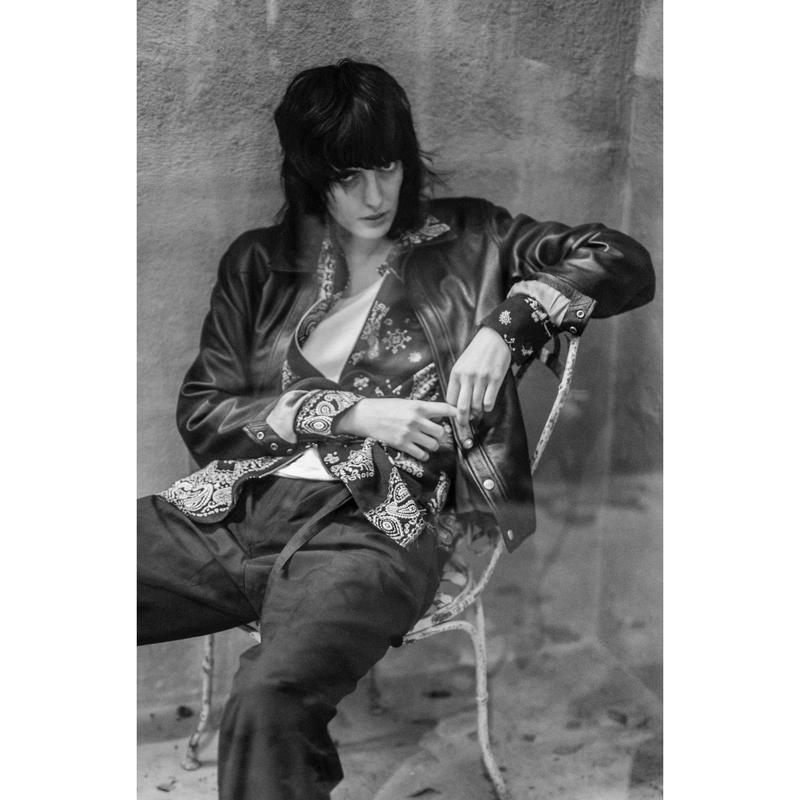 Western Cutting Jacket. -ELK Leather-