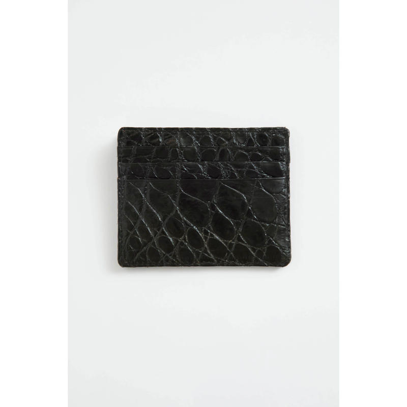 6 Pocket Card Case.            -Crocodile-
