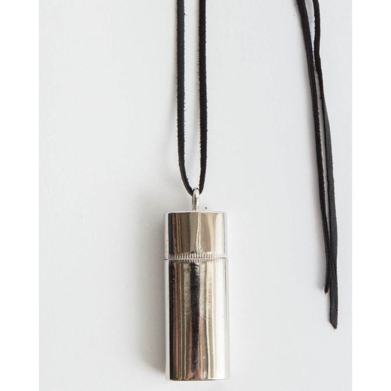 Bic Mini Lighter Case Necklace.