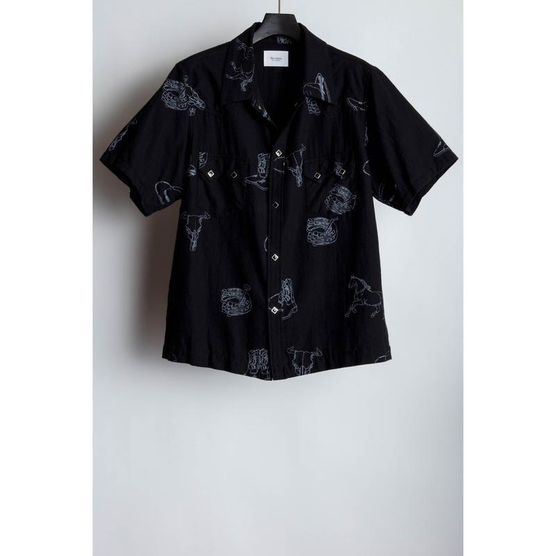 Western S/S Shirt.  -Western Pattern Flannel-