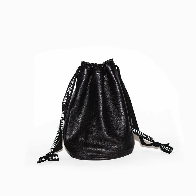 Strap Bag. -ELK Leather-