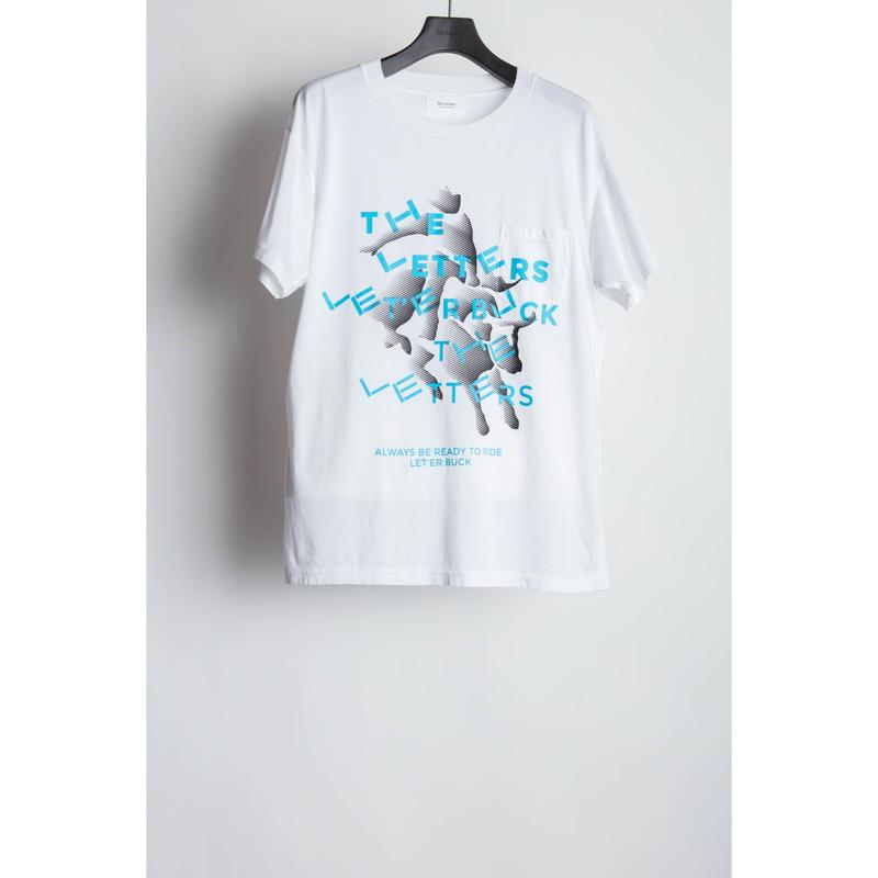 LET'ER BUCK Pocket T-shirt.