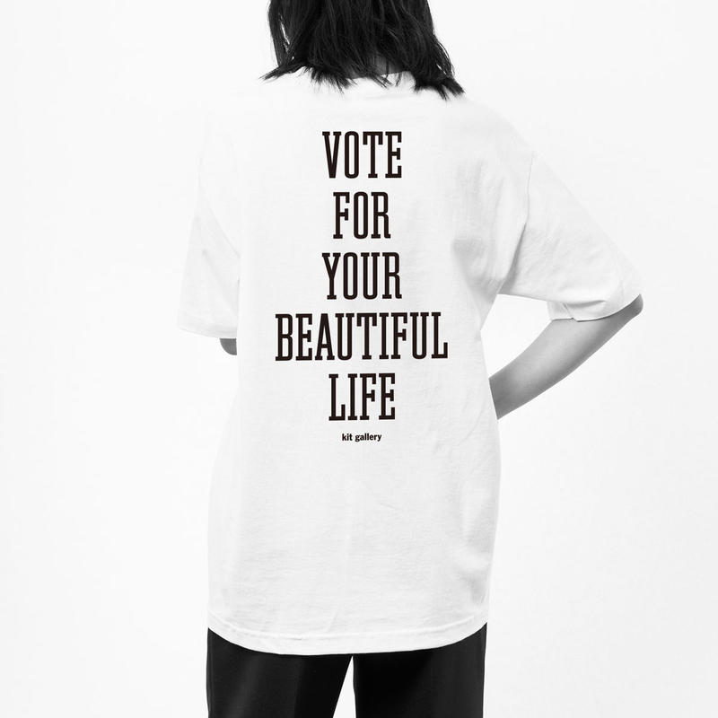 """kit gallery × THE M/ALL  """"BEAUTIFUL LIFE"""""""