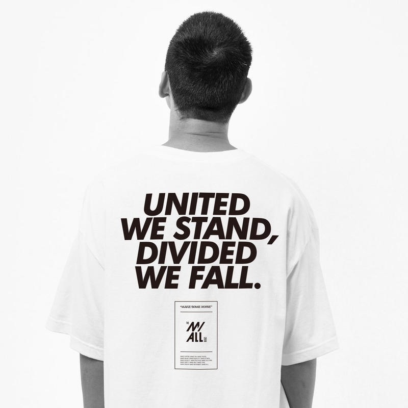 """12XU × THE M/ALL  """"UNITED WE STAND"""""""