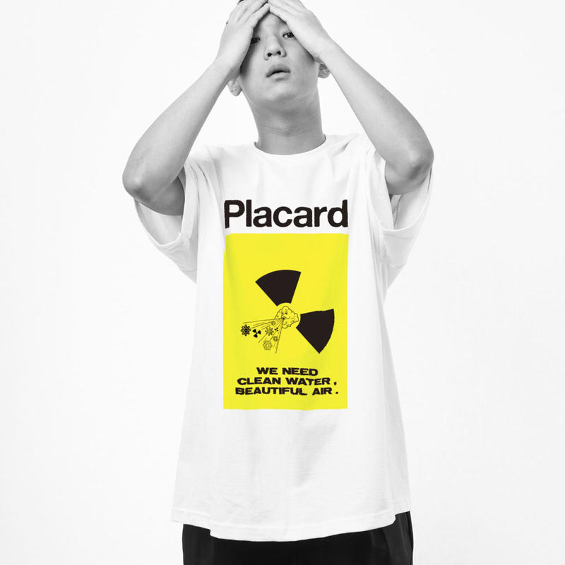 "MATERIAL × THE M/ALL ""Placard -NO NUKES-"""