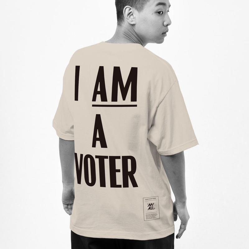 """12XU × THE M/ALL  """"I AM A VOTER"""""""