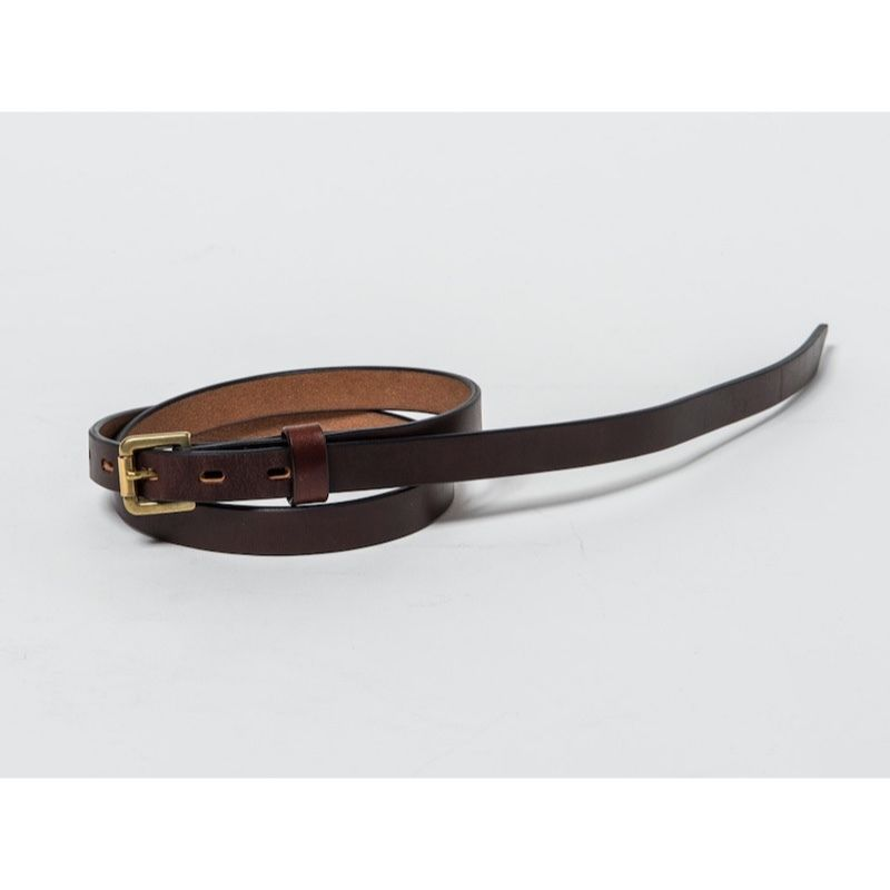 20mm LONG PLAIN BELT (CHOCO)