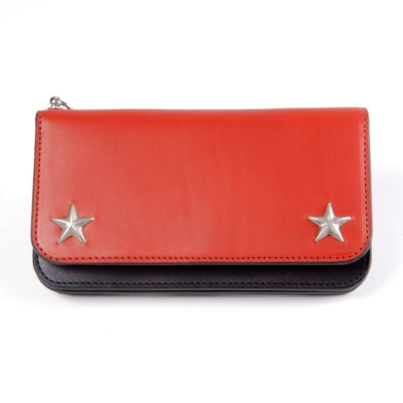 STAR TRACKER WALLET (red)
