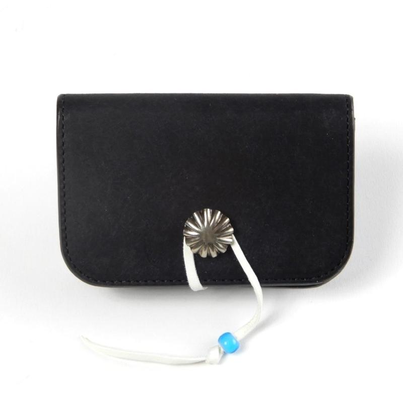 CONCHO CARD CASE (BLACK)