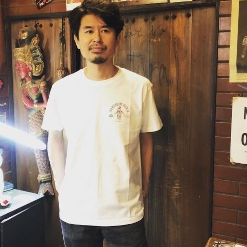 ZVON LOGO T-Shirt 【野晒しのマリア】-WHITE- CSF-CT-005
