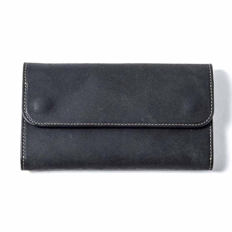 Vintage Works × The Wonder Lust    Long Wallet Black