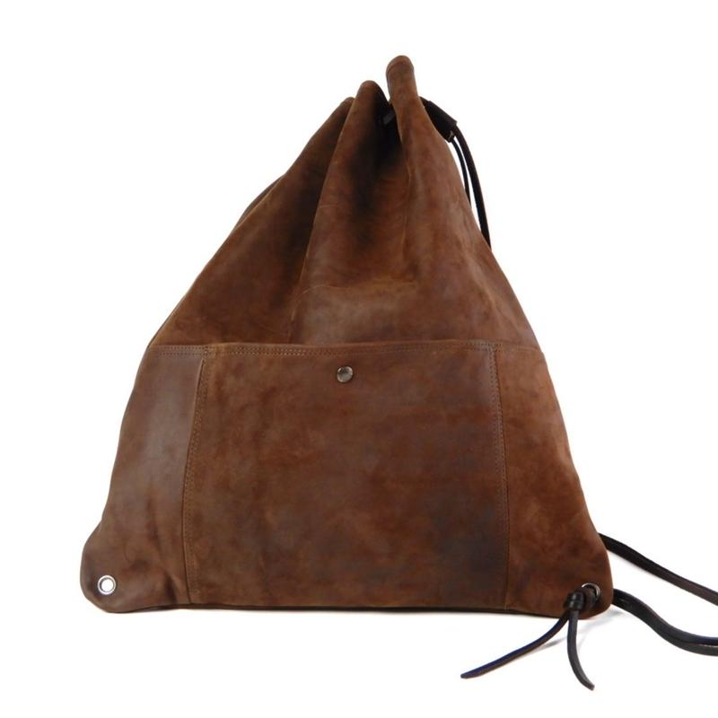 SHOULDER BAG -CHOCO-