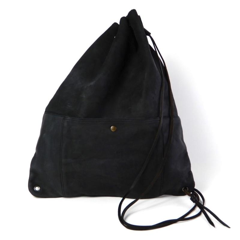 SHOULDER BAG -BLACK-