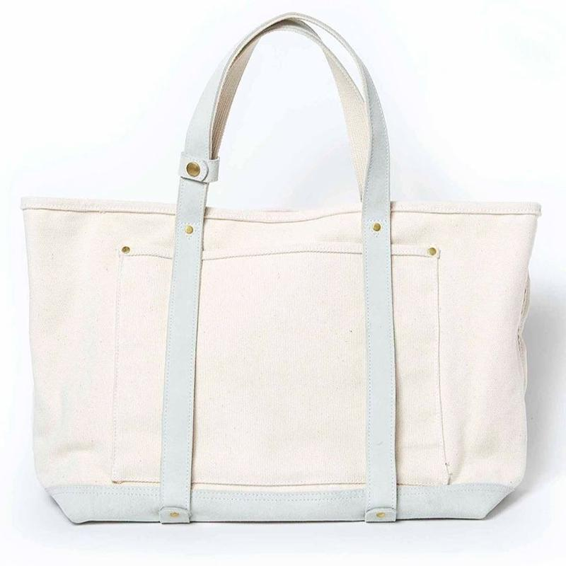 BASIC BIG TOTE ( WHITE×WHITE )