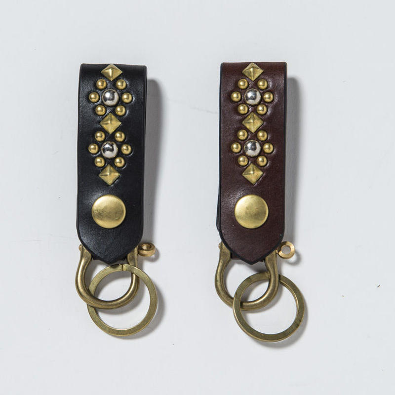 30mm STUDS KEYHOLDER -flower-