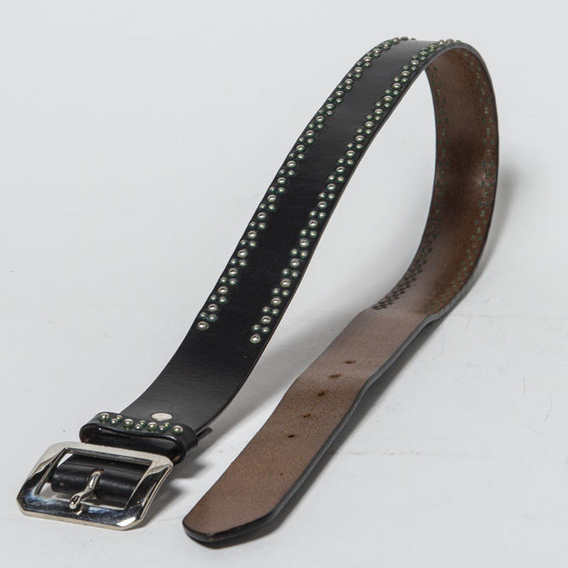 40mm STUDS BELT -madallion- (CHOCO)