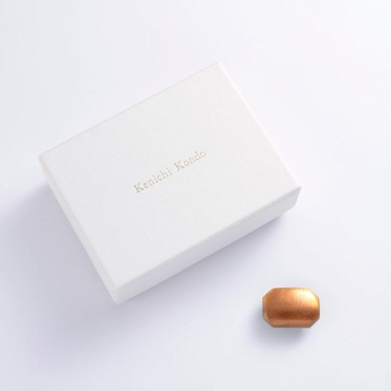 帯留 kenichi kondo クリアオレンジ
