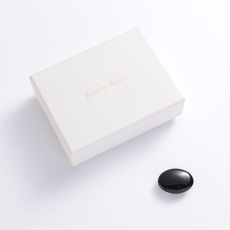帯留 kenichi kondo 黒