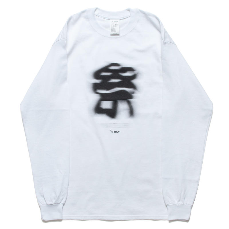 "THE 1st SHOP 祭 ""BLUR"" L/S Tee"