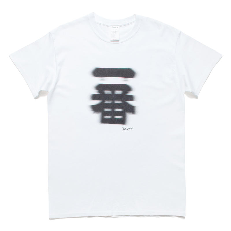 "THE 1st SHOP 一番 ""BLUR"" Tee"