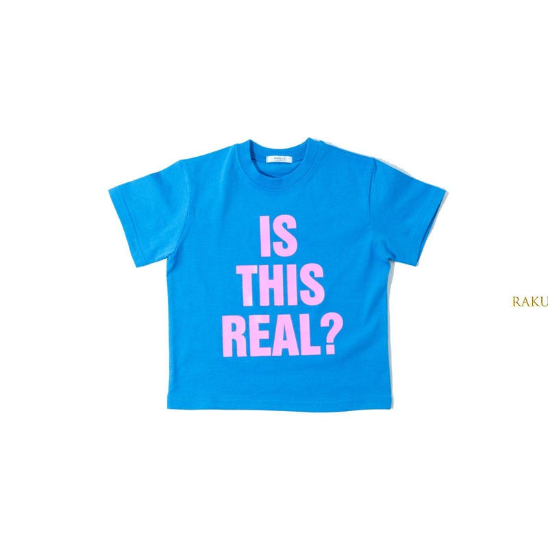 KIDS☆is this real Tシャツ☆size140