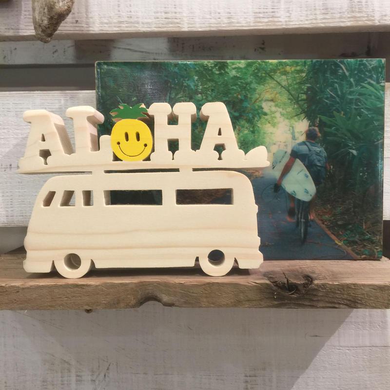 スマイルウッド! aloha bus