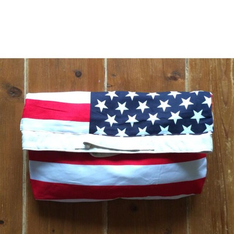 americanflag 2way クラッチバッグ