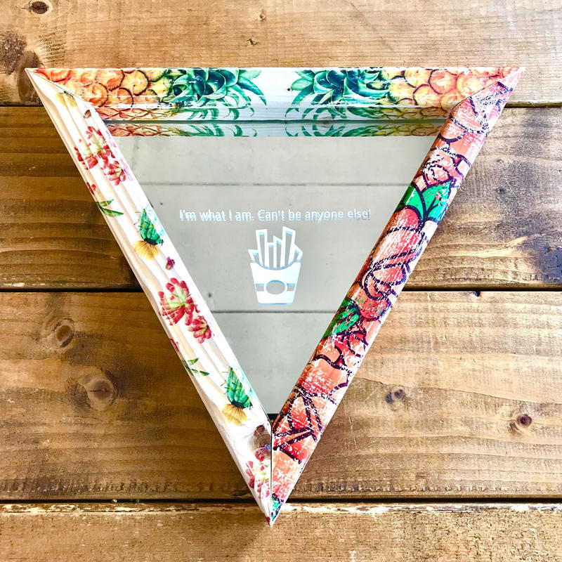 Triangle mirror (print)