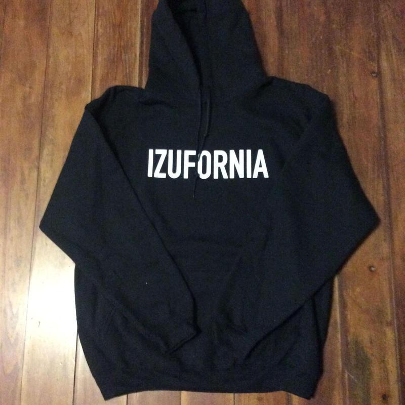 IZUFORNIA HOODEDPK002  L/S 【black】
