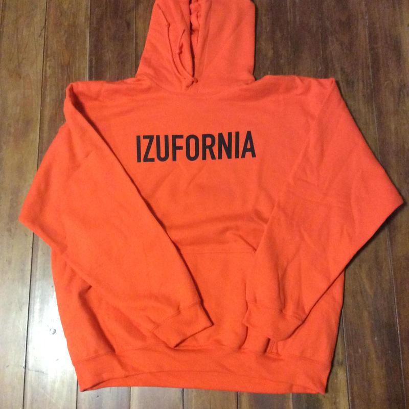 IZUFORNIA HOODED PK003  L/S 【orange】