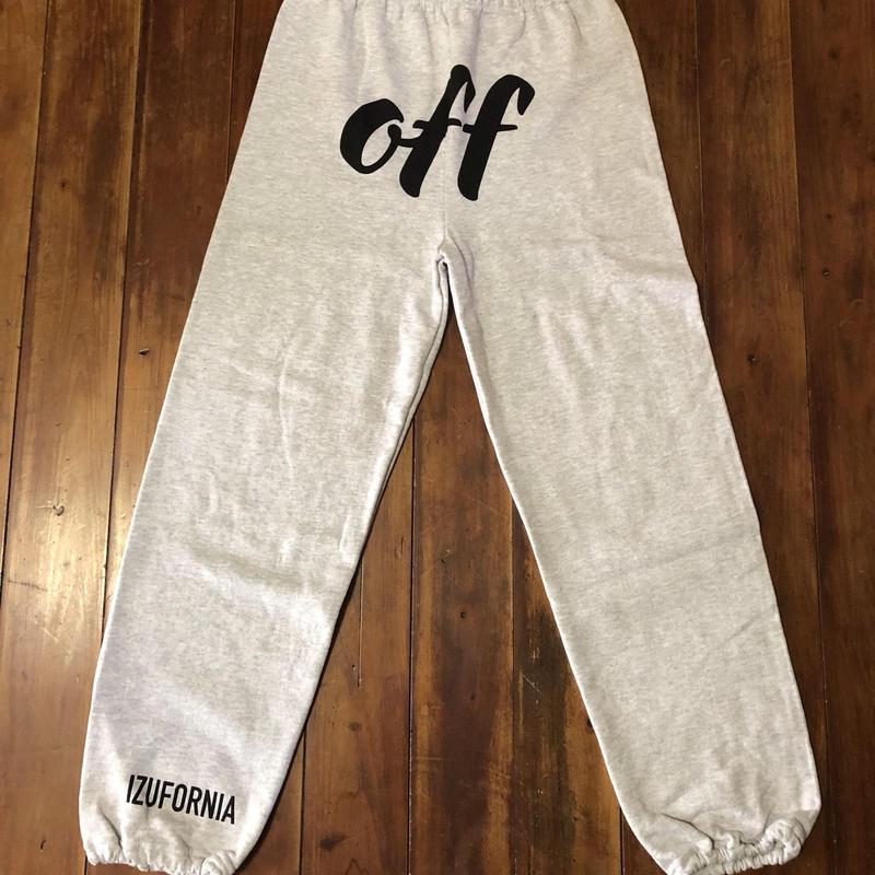 off SWEAT PANTS   P002 【AG】