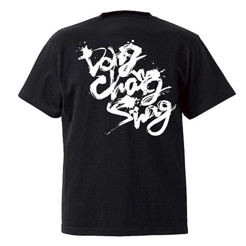 DONG CHANG SWAG TEE:BLACKxWHITE