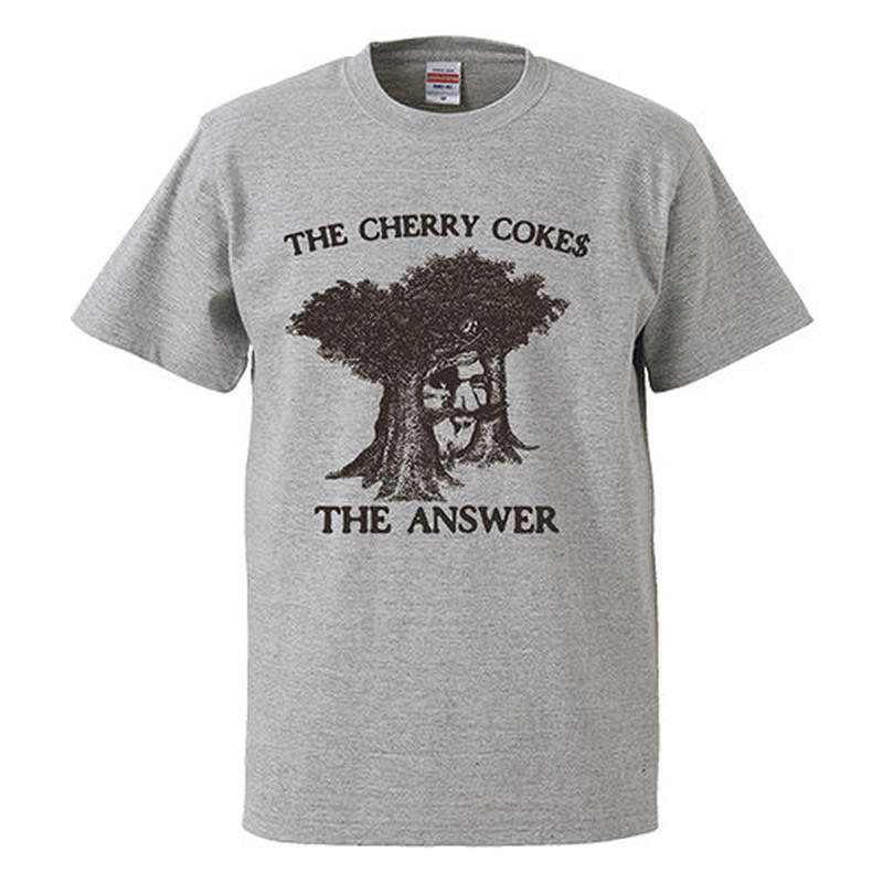 """THE ANSWER"" Jacket S/S TEE : GRAY"