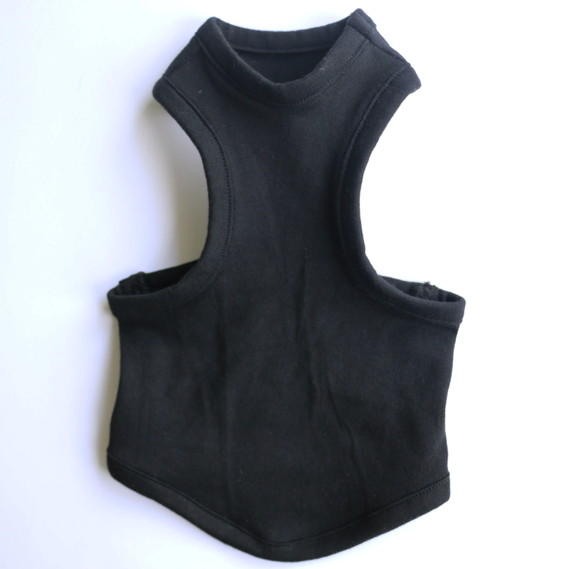 simple MUSCLE tank <BLK>