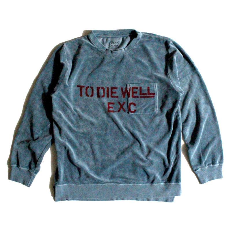 """""""TDW"""" (ベロアLTS/ブルー) #EXC-7LT04"""