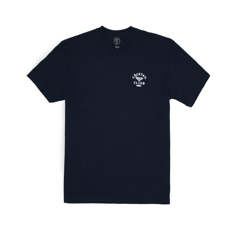 COCKTAIL CLUB TEE - NAVY
