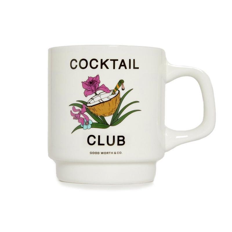 CLUB TROPICS COFFEE MUG