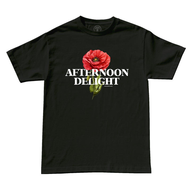 AFTERNOON DELIGHT TEE - BLACK