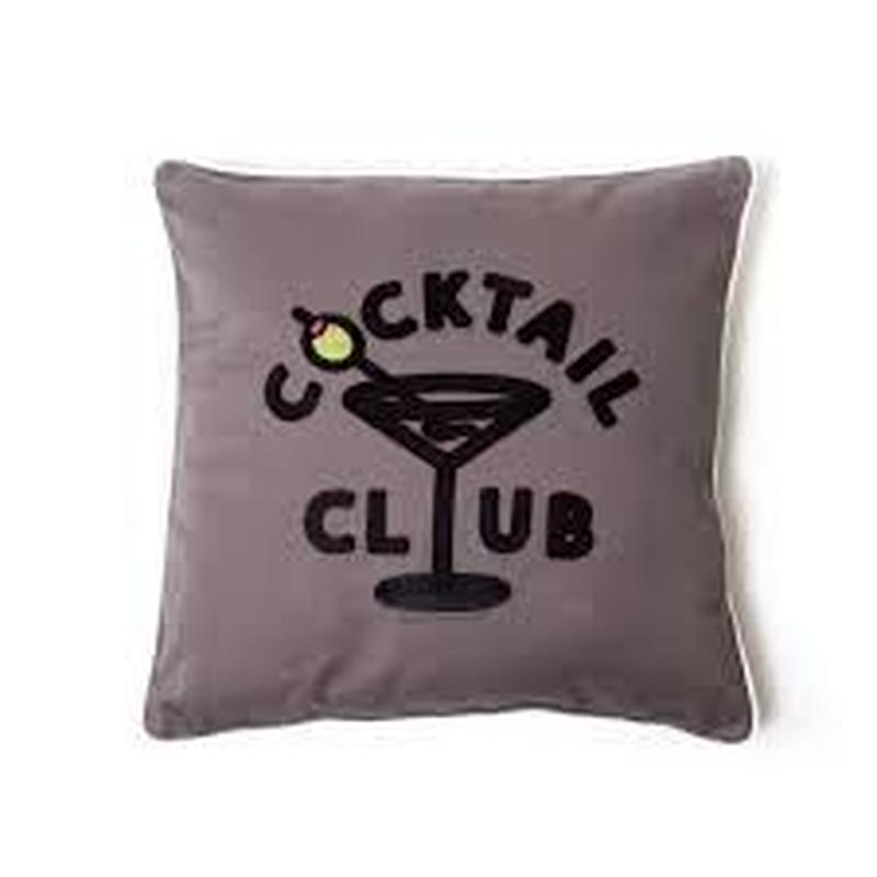 COCKTAIL CLUB PILOW