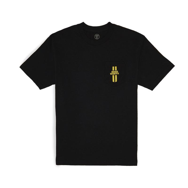 TRACK POCKET TEE - BLACK