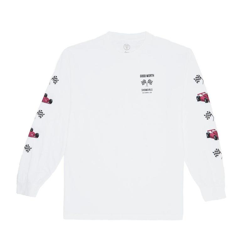 GRAND PRIX LONG SLEEVE - WHITE